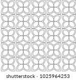 seamless ornamental vector...   Shutterstock .eps vector #1025964253