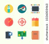 icons about lifestyle with... | Shutterstock .eps vector #1026003463