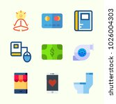 icons about lifestyle with yoga ... | Shutterstock .eps vector #1026004303