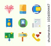 icons about lifestyle with... | Shutterstock .eps vector #1026004447
