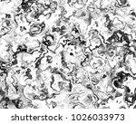 natural luxury of marbleized... | Shutterstock . vector #1026033973