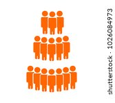illustration of crowd of people ... | Shutterstock .eps vector #1026084973