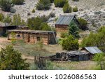 Old Log Cabins And Sheds Are...