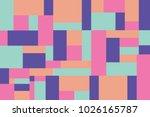 trendy vector block... | Shutterstock .eps vector #1026165787