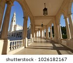 fatima church pilgrimage site....   Shutterstock . vector #1026182167
