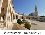 fatima church pilgrimage site....   Shutterstock . vector #1026182173