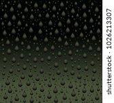 raindrop type bubble on the... | Shutterstock .eps vector #1026213307