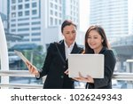 technology or business concept  ...   Shutterstock . vector #1026249343