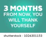 fitness motivation quote | Shutterstock . vector #1026301153