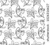 set of berries vector...   Shutterstock .eps vector #1026316627