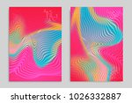 abstract cover template with... | Shutterstock .eps vector #1026332887
