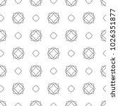seamless ornamental vector... | Shutterstock .eps vector #1026351877