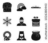 religious symbolism icons set