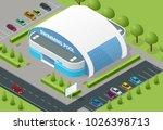 isometric illustration of...   Shutterstock .eps vector #1026398713