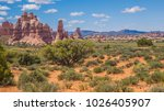 canyonlands national park... | Shutterstock . vector #1026405907