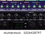 volume control  audio system's... | Shutterstock . vector #1026428797