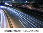 City Highway Vehicles In The...