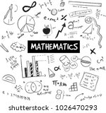 math theory and mathematical... | Shutterstock .eps vector #1026470293