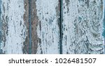 old cracked color wood plank... | Shutterstock . vector #1026481507