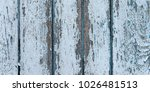 old cracked color wood plank... | Shutterstock . vector #1026481513