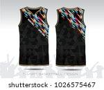 basketball jersey  black sport...   Shutterstock .eps vector #1026575467
