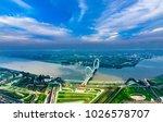nanjing city  jiangsu province  ... | Shutterstock . vector #1026578707