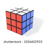 minsk  belarus  8 february... | Shutterstock .eps vector #1026602923
