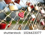as a promise of love  the... | Shutterstock . vector #1026623377
