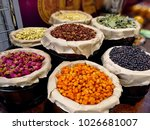 dried herbs and berries. dried... | Shutterstock . vector #1026681007