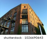 old storehouse with modern... | Shutterstock . vector #1026690643