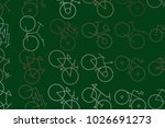 abstract outline of bicycle...   Shutterstock .eps vector #1026691273