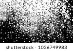 black and white texture of... | Shutterstock .eps vector #1026749983