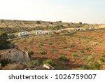 rural area fields india | Shutterstock . vector #1026759007