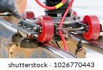 detail of dolly track for...   Shutterstock . vector #1026770443