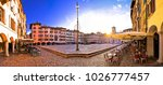 piazza san giacomo in udine... | Shutterstock . vector #1026777457