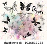 vector illustration. various... | Shutterstock .eps vector #1026813283