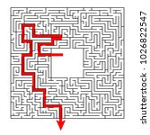 complex maze puzzle game with