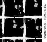 kilt texture. seamless grunge... | Shutterstock .eps vector #1026843157