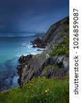 cliffs at slea head  iveragh... | Shutterstock . vector #1026859087