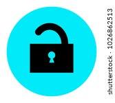 unlock icon vector