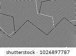 zebra lines design with black... | Shutterstock .eps vector #1026897787