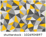 chaotic grid of triangles and... | Shutterstock . vector #1026904897