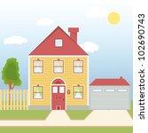 vector illustration of a...   Shutterstock .eps vector #102690743