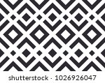 abstract geometric pattern.... | Shutterstock .eps vector #1026926047