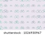 abstract outline of bicycle...   Shutterstock .eps vector #1026930967