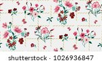 seamless floral pattern in... | Shutterstock .eps vector #1026936847