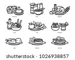 meals of people who should eat... | Shutterstock .eps vector #1026938857