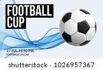 football 2018 world... | Shutterstock .eps vector #1026957367