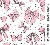cute seamless pattern with... | Shutterstock .eps vector #1026958243