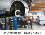 car service station | Shutterstock . vector #1026971587